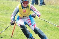 Zuzana Gardavská, vítězka Světového poháru v travním lyžování.