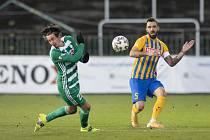 Dohrávka zápasu 14. kola FORTUNA:LIGY mezi Bohemians Praha 1905 a SFC Opava 27. ledna 2021.