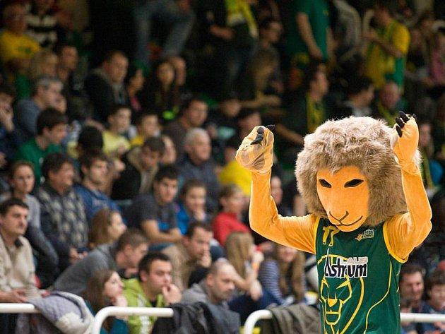 Maskot levických basketbalistů.