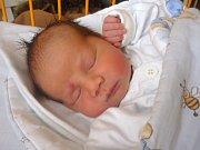 Alex Gajdoštík z Vítkova se narodil v novojičínské porodnici 27. února, vážil 3,12 kilogramů a měřil 47 centimetrů.