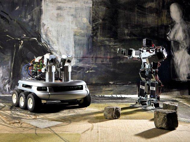 Roboti, kteří se objeví v OC Breda již tento týden.
