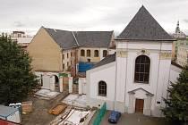 Rekonstrukce bývalého kostela svatého Václava, včetně Domu umění, v Opavě přijde na neuvěřitelných 122 milionů korun.