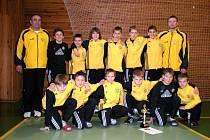 Mladší žáci fotbalového Hlučína obsadili v závěrečném turnaji o halového mistra České republiky čtvrté místo.