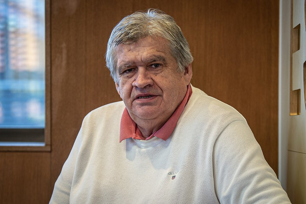 Hokejový trenér Karel Suchánek, 8. prosince 2020 v Opavě.