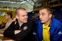 Ondřej Malohlava se svým kamarádem Jaroslavem Kolínkem.