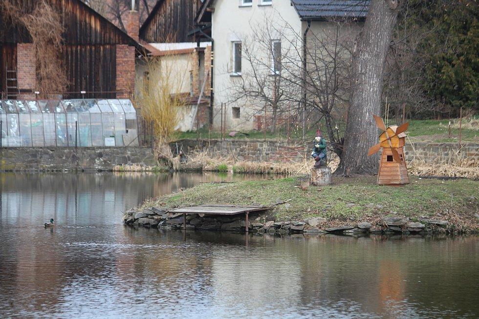 Rybníky v Litultovicích.