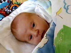 Matěj Zych se narodil 4. března, vážil 3,98 kilogramů a měřil 49 centimetrů. Rodiče Romana a Petr z Opavy přejí svému prvorozenému synovi hlavně zdraví a životní moudrost.