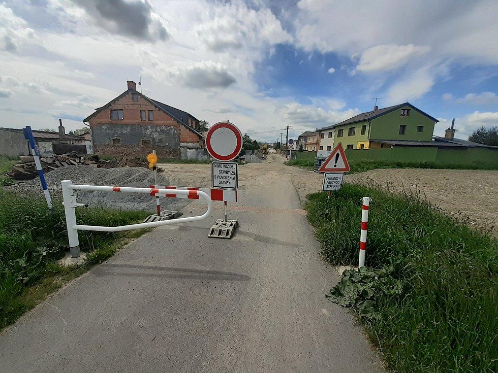 Rekonstrukce ulice Domky.