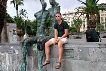 Do Barcelony se mladý stopař dostal z Opavy za téměř čtrnáct dní.