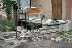 Bývalá ubytovna na Jánské ulici. Srpen 2008.