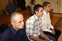 Petr Glotzmann, Jakub Šíma a Jiří Pelant.