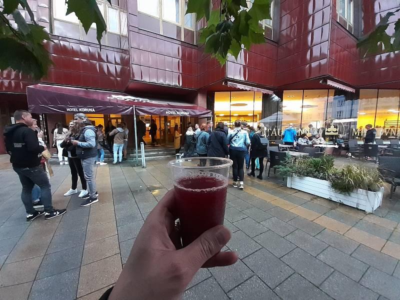 Burčáková stezka v Opavě. Opava, 17. září 2021.