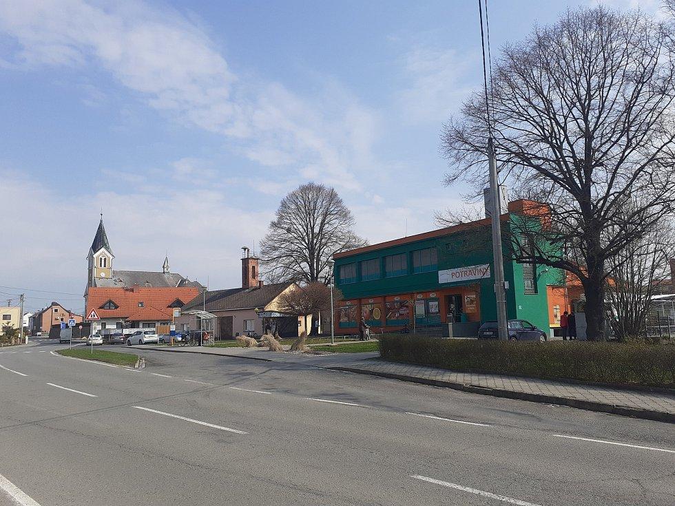 Obec Štěpánkovice.
