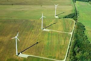Větrné elektrárny. Ty by měly do budoucna vyrůst také na Opavsku.