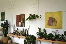 Splynutí rostlin a uměleckých děl je dokonalé.