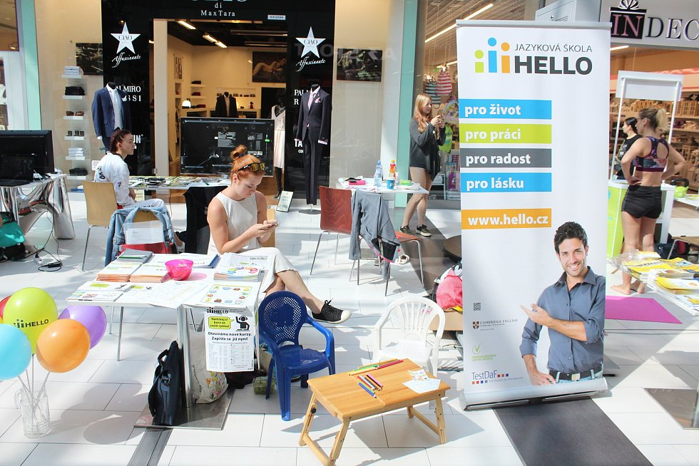 Veletrh volnočasových aktivit opět hostily prostory Obchodního centra Breda&Weinstein.