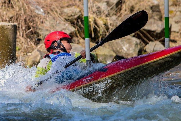 Český pohár žáků ve slalomu v Opavě