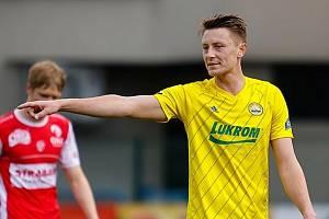 Fotbalista Fastavu Zlín Dominik Simerský. Foto: FC Fastav Zlín