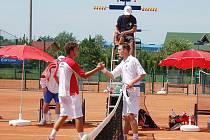 Galeův pohár, čtvrtek, utkání Česká republika - Maďarsko 0:3