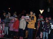 Koledy se zpívaly také v Chlebičově na Opavsku.