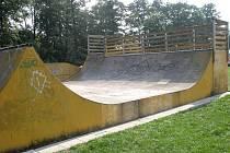 Skatepark v Městských sadech.