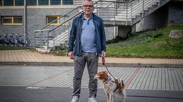 Bývalý manažer klubu BK Opava Dušan Štenička poskytl Deníku rozhovor, 22. října 2020 v Opavě.