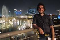 Pavel Klega na své cestě kolem světa zavítal také do Kuvajtu.