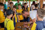 Charitativní turnaj v malé kopané Ceca Cup.
