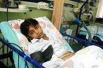 Jessika Rybárová může mluvit o velkém štěstí. Nyní  se již zotavuje ve Slezské nemocnici v Opavě.