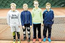 Na medaile si sáhli tenisté opavského oddílu JC sport na halových přeborech okresů ve Frýdku-Místku, který byl určen pro mladší žákyně a žáky.