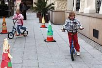 Sportovní program čeká na děti hlavně v parcích poblíž centra.