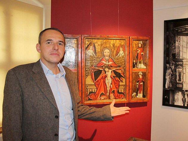 Pavel Šopák se stal autorem výstavy Paměť Slezska Slezského muzea v Opavě, kterou byl otevřen opravený Dům umění.