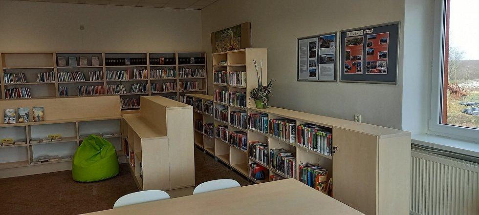 Knihovna v Sudicích.