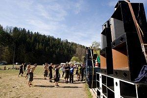 Technoparty se na Hadince konají pravidelně každým rokem.