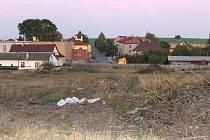 Brownfield ve Větřkovicích (říjen 2011).