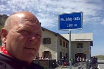 Helmut Šafarčík už poznal v sedle motorky prakticky celou Evropu. Teď s kamarádem Michalem Ježovičem a jeho přítelkyní zamíří do Turecka.