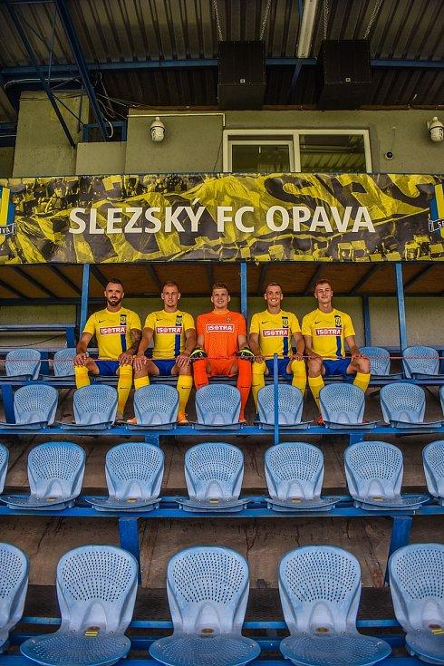 Slezský FC Opava představil nové dresy.