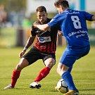 Vlašim - Zápas 23. kola Fortuna národní ligy mezi FC Vlašim a SFC Opava 22. dubna 2018 ve Vlašimi. Petr Zapalač - o.