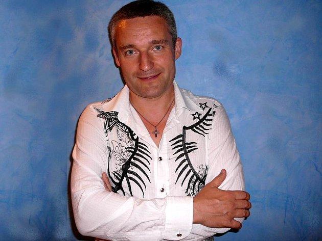 Na benefiční akci pro zrakově postižené vystoupí také Vladimír Hron.