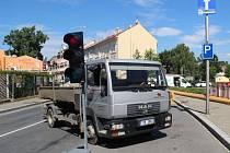 V Nákladní ulici v Opavě se momentálně pracuje na opravách vodovodního řádu.