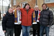 Zleva: Jan Pitřík, Petr Švancara, Džeky, Karel Jarůšek, Pavel Hadamczik.