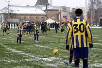 Druhý vánoční zápas Slezského FC Opava proběhl v sobotu 27. prosince v Kylešovicích.