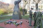 Den výročí 17. listopadu v Opavě v roce 2012.