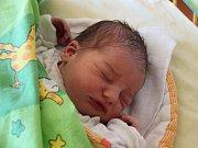 Daniel Salzmann se narodil 21. června, vážil 3,85 kilogramů a měřil 50 centimetrů. Rodiče Nikola a Tomáš ze Služovic přejí svému prvorozenému synovi do života především zdraví.