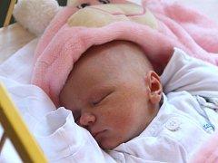 Magdaléna Holečková se narodila 19. září, vážila 3,35 kilogramů a měřila 48 centimetrů. Rodiče Martina a Přemysl z Opavy přejí své prvorozené dceři především zdraví a štěstí.