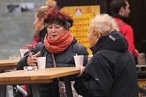 Punč má během podzimního a zimního období v Opavě velkou tradici, což se projevuje i po prvních dnech otevření.