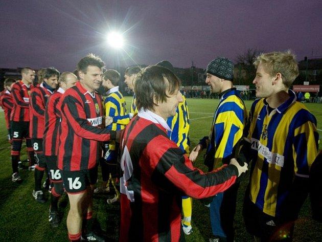 Vánoční zápas 2011. Ilustrační foto.