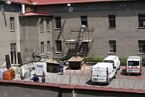 Rekonstrukce opavské věznice potrvá do října.