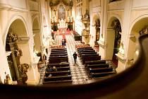 Celostátní akce Noc kostelů. Ilustrační foto z chrámu sv. Ducha v Opavě.