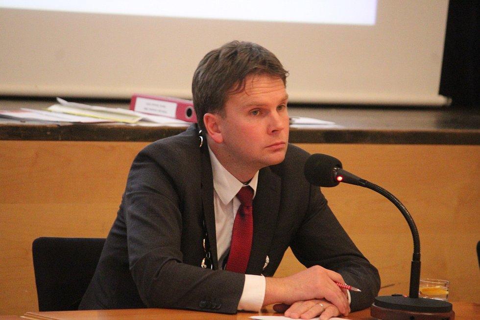 Ustavující zastupitelstvo v Opavě.